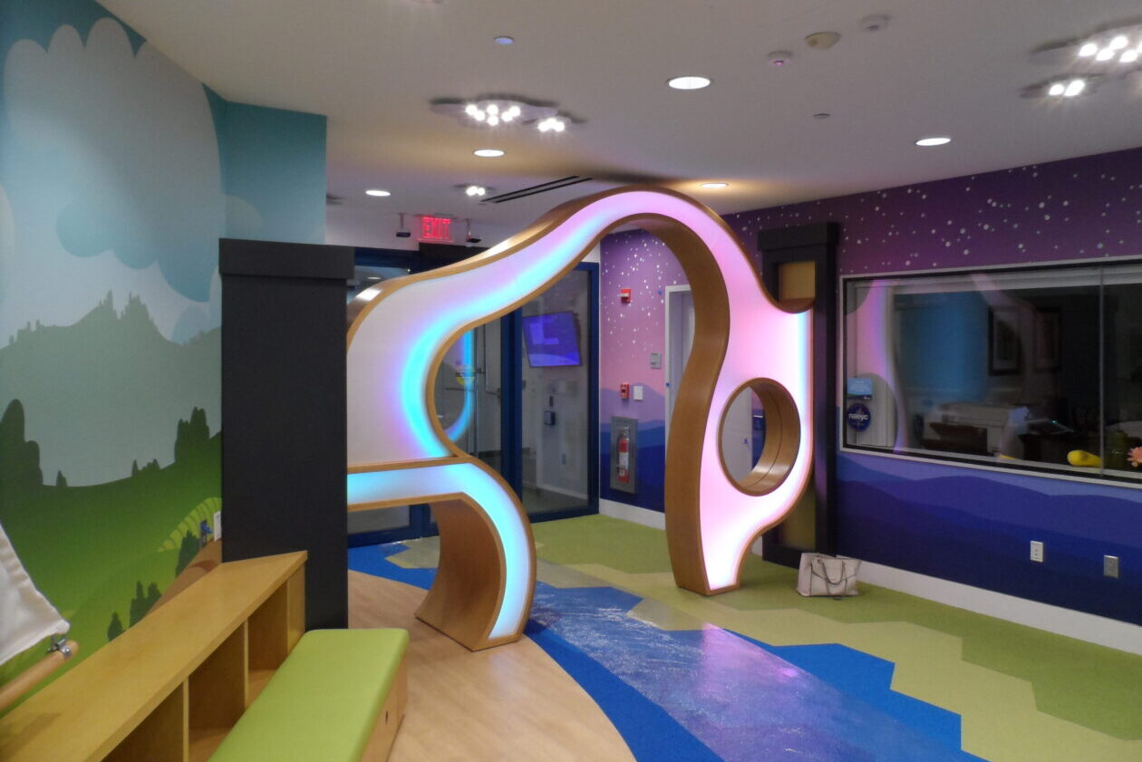 Children's Learning Lab Entry View